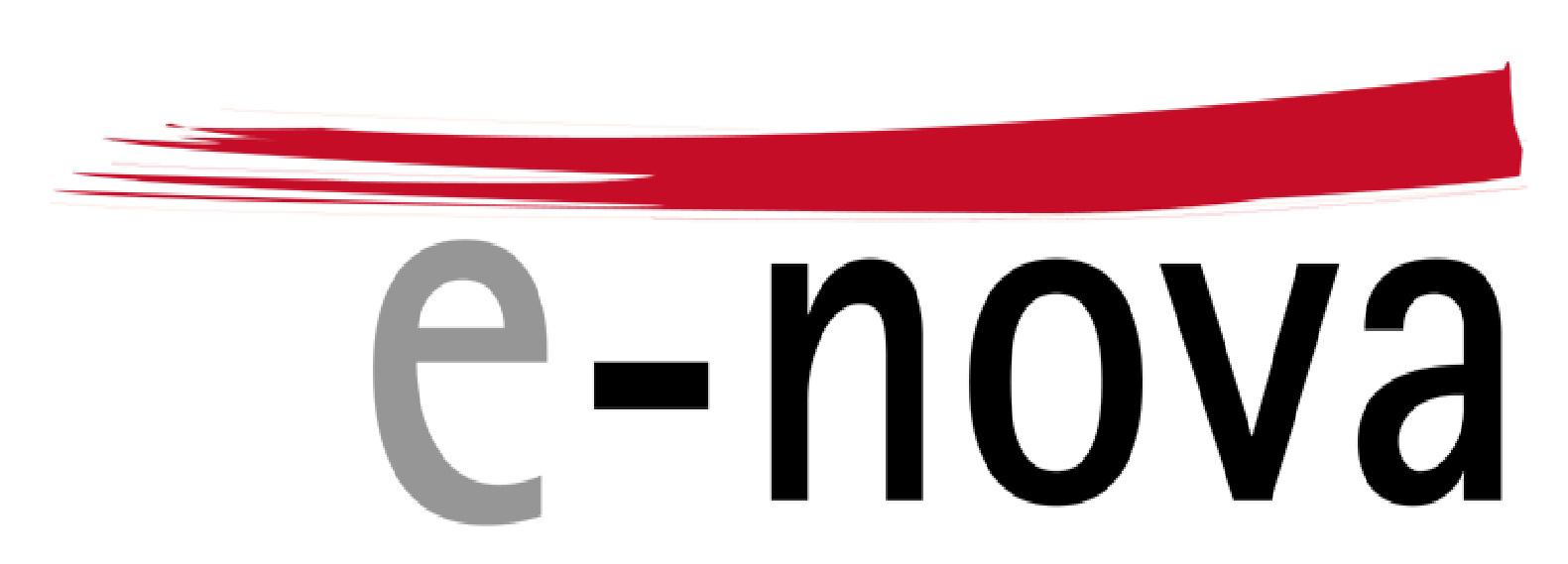 e-nova Logo